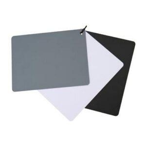 Charte de gris / blanc / noir